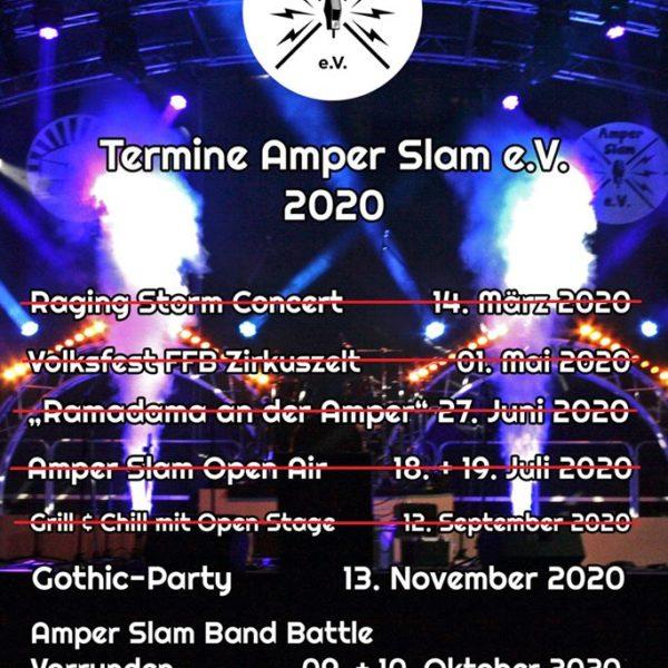Amper Slam e. V. auch in Corona-Zeiten für die Kultur