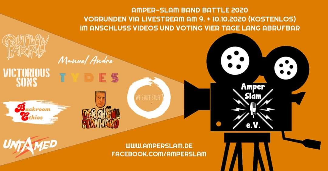 Amper-Slam Band Battle 2020 – Streaming Edition
